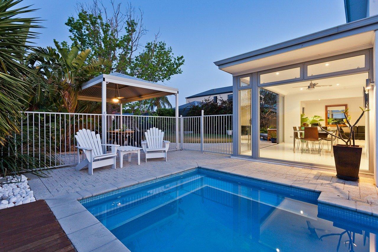 aménagement jardin piscine